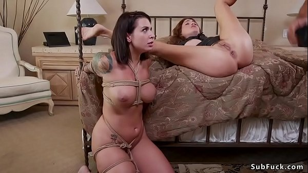 Dude fucks two anal step sisters
